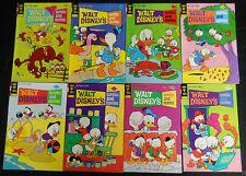WALT DISNEY'S COMICS STORIES 1974 #405 TO 540 MUCH CARL BARKS,62 DIFFERENT BOOKS