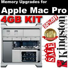 Kingston 4gb Kit (4 X 1gb) Ddr2 PC2-5300 a 667 Mhz Ram Para Apple Mac Pro 2006-2008
