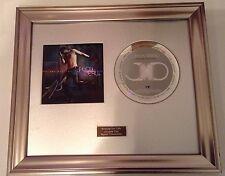 SIGNED/AUTOGRAPHED JASON DERULO - FUTURE HISTORY CD  FRAMED PRESENTATION. RARE