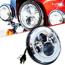 "7"" Motorcycle Led Daymaker Headlight for Harley Softail Deluxe Fat Boy FLSTF"