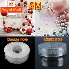 5M Balloon Arch Decor Strip Connect Chain Plastic DIY Tape Decorating String YO