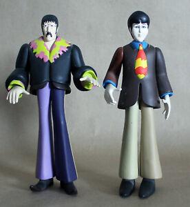 McFARLANE TOYS 1999*THE BEATLES YELLOW SUBMARINE*JOHN LENNON & PAUL McCARTNEY