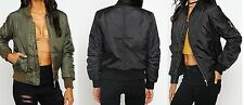 Unbranded Women's Casual Zip Biker Coats & Jackets
