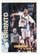 MARCUS CAMBY UNIVERSITY OF MASSACHUSETTS CERTIFIED 1996 DRAFT DAY 105/1996