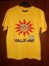 tee-shirt moto gp VALENTINO ROSSI 46 - jaune - taille 10 ans - ref1 - neuf