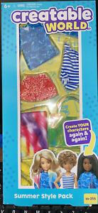 """NEW Mattel Creatable World """"Summer"""" Style Pack ss-255 doll clothes New"""