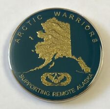 Supporting Remote ALASKA USAF PACAF 611th CES Civil Engineer Sq ARCTIC WARRIORS