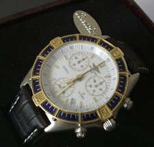 AUTHENTIQUE BREITLING CHRONO J-CLASS OR ACIER
