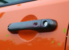 For Jeep Renegade 2015-2018 Carbon Fiber Color Door Handle Cover With Smart Hole