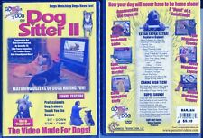 Dog Sitter Dvd Volume 2 Enrichment For Your Pets New Sealed +Bonuses Free Ship