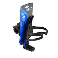BETO BC-111C Plastic Adjustable Clamp Bike Bicycle Water Bottle Cage - Black