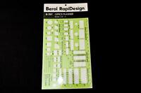 Berol Rapidesign Template - Office Planner -  R-707 - VTG USA Drafting Stencil