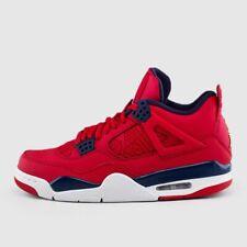 Nike Air Jordan Retro 4 FIBA Gym Red Gold Obsidian White CI1184-617 Men&GS 4y-15
