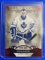 2020-21 Upper Deck Artifacts Legends Ruby #151 Felix Potvin /399 Toronto