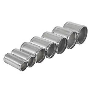 JJC Aluminium/Alloy Air/Water Hose Joiner - 76mm Long 1.5mm Thick - 32mm OD