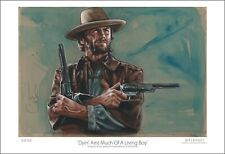 Clint Eastwood / Josey Wales - Limited Edition Western Art Print