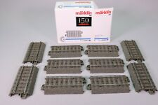 ZL041 Marklin 24064 Ho Boite 10 rail droit ballast 64,3 mm C Gerades Gleis