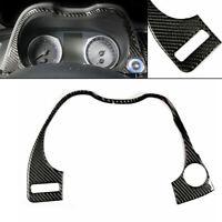 Carbon Fiber Interior Dashboard Frame Cover Trim Fit for Infiniti Q50 14-19 New