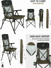 TR Outfitter Lodge Hard Arm Camo XL Folding Camp Chair (TR-F20-HNT-012)