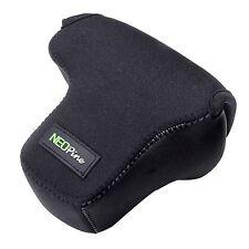 Custodia borsa protettiva bag in gomma neoprene NERO gancio per Fujifilm X-T10