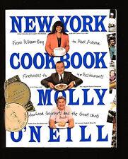 NEW YORK COOKBOOK-ETHNIC RECIPES-MOLLY O'NEILL-CITY MEALS ON WHEELS FUND RAISER