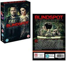 BLINDSPOT 1+2 2015-2017: Crime, Action, Thriller TV Season Series Rg2 DVD not US