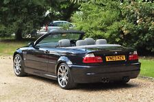 Bmw M3 Convertible inc Hardtop 2003 E46 Manual Outstanding Condition Throughout
