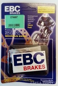 EBC (Green) Mountain Bike Disc Brake Pads For SRAM - FORCE / S / RIVAL - Series