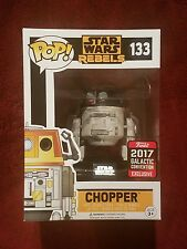 Funko Pop! Star Wars Celebration 2017 Galactic Convention #133 Chopper Rebels