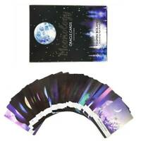 Tarot Cards Moonology Oracle Card: 44-Card Deck English Practical Home Game Gift