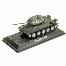 RUSSIAN T-34/85 MEDIUM TANK 1/72 DIECAST WW2  GREAT PREBUILT