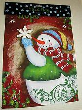 "Christmas Decorative Yard Flag 12""x 18"" Hope"