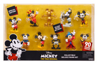 DISNEY MICKEY THE TRUE ORIGINAL Collectible DELUXE Figure Set - Golden Mickey