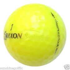 24 AAA Srixon TriSpeed Tour Yellow Used Golf Balls (3A)  FREE SHIPPING