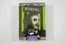 Beetlejuice Playing Card Deck 52 Poker Cards Michael Keaton Collectible Sealed