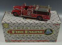 CORGI AMERICAN FIRE ENGINE 1956 MAXIM FIRE PUMPER TRUCK L.E. DIE CAST MIB 1:50