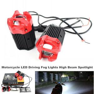 Motorcycle LED Driving Fog Lights Car High Beam W3 Projector Lights Fog lamp 30W