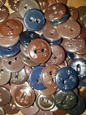 BSA Boy Scout Uniform Shirt Replacement Buttons Lot of 30 mixed colors