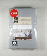 Brand New Cotton Co. 400 Thread Count 100% Cotton 2 King Pillowcases