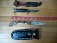 2 Vintage Hunting Fishing Fishing hunting knife Germany and other rough