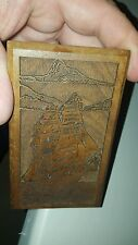 Lasercaft Raised Laser Engraved Ship Art U.S.S. Constitution? Nautical Decor