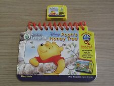 Disney Winnie The Pooh's Honey Tree - Leapfrog My First LeapPad Book & Cartridge