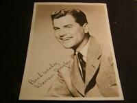 "Autographed Photo WARREN DOUGLAS Hollywood Actor, Hand Signed Signature 5""x7"""