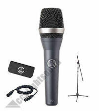 AKG D5 STAGE PACK LIVE PERFORMANCE PACKAGE WITH D5 MIC, STAND AND 5M XLR CABLE