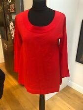 Cos Fine Knit Scarlet Top Size M (12/14)
