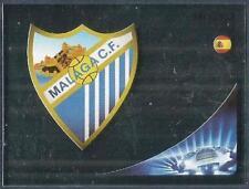 PANINI UEFA CHAMPIONS LEAGUE 2012-13- #210-MALAGA TEAM BADGE-SILVER FOIL