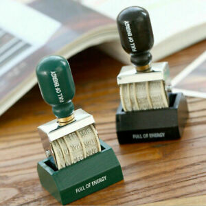 Rubber Date Stamp Vintage Library Book Stamps Wedding Stationery Craft Office