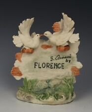 "Giuseppe Armani Figurine ""Florence Plaque with Doves"" WorldWide"