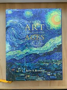 Gardner's Art Through The Ages 13th Edition - Hardcover w/ Timeline Poster