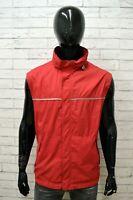 Giubbino COLMAR Uomo Taglia Size 56 Giubbotto Smanicato Giacca Jacket Man Rosso